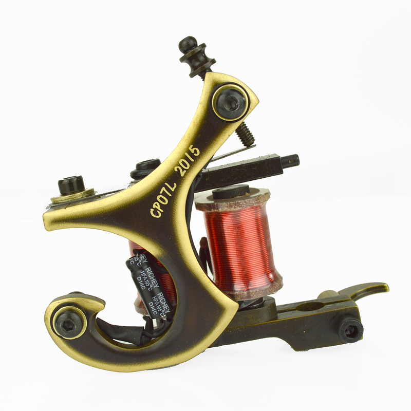 Copperman Tattoo Machine J Cutter With Cnc Frame Liner