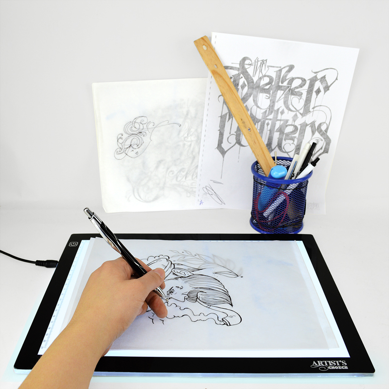 how to use led tracing pad