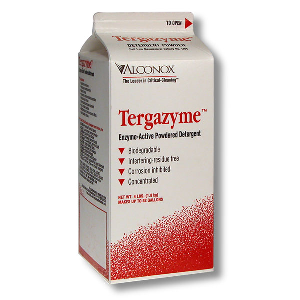 Tergazyme enzyme active powdered tattoo equipment for Best soap to clean tattoo