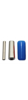 "1"" Blue Silicon Gel Grip (25mmX50mm)"