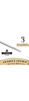 Artist's Choice Tattoo Needles - 3 Round Shader 50 Pack