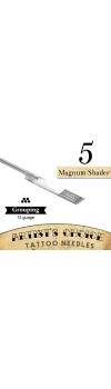 Artist's Choice Tattoo Needles - 5 Magnum Shader 50 Pack
