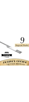 Artist's Choice Tattoo Needles - 9 Magnum Shader 50 Pack