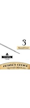 Artist's Choice Tattoo Needles - 3 Round Liner 50 Pack