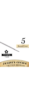 Artist's Choice Tattoo Needles - 5 Round Liner 50 Pack