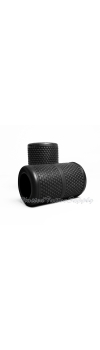 "Autoclavable Textured Tattoo Grip Cover Holder 1.25"" - Black"