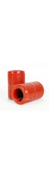 "Autoclavable Textured Tattoo Grip Cover Holder 1.25"" - Red"
