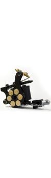 E-class Professional Black Bullet Revolver Tattoo Machine w/10 Wrap Coil