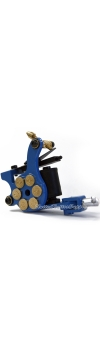 E-class Professional Blue Bullet Revolver Tattoo Machine w/10 Wrap Coil