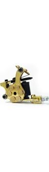 E-class Professional Glod Bullet Revolver Tattoo Machine w/10 Wrap Coil