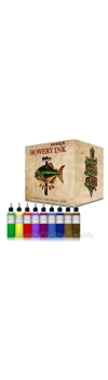 INTENZE Bowery Ink by Bowery Stan Moskowitz - 1 Oz 8 color Set