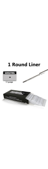 Tattoo Needles - 1 Round Liner 50 Pack