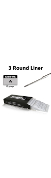 Tattoo Needles - 3 Round Liner 50 Pack