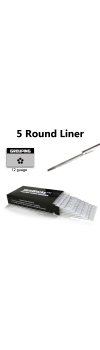 Tattoo Needles - 5 Round Liner 50 Pack