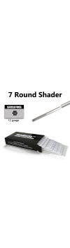 Tattoo Needles - 7 Round Shader 50 Pack