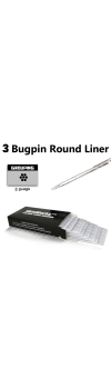 Tattoo Needles - #8 Bugpin 3 Round Liner