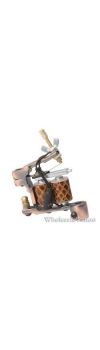 E-CLASS Professional Left-handed Tattoo Machine with 10 Wrap Coils