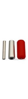 "7/8"" Red Silicon Gel Grip (22mmX50mm)"