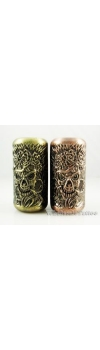Empaistic Copper Tattoo Grip &Tube Voodoo Skulls Design
