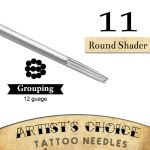 Artist's Choice Tattoo Needles - 9 Round Shader 50 Pack