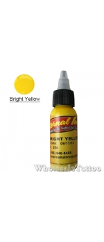 0.5 oz Eternal Tattoo Ink bright yellow