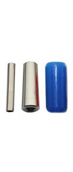 """7/8"""" Blue Silicon Gel Grip (22mmX50mm)"""