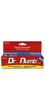 Dr. Numb - Topical Tattoo / Piercing Anesthetic Numbing Cream 30g (1OZ) Max Strength 5% Lidocaine