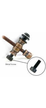 Copper Front Contact Binding Post Set