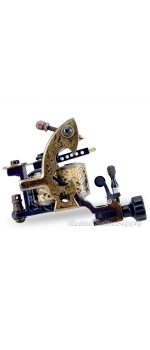 Hand Made Dove DAMASCUS TATTOO Machine with Needle Tensioner - Liner