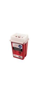 Sharps Collector, Red, 1 qt