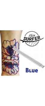 Blue Skin Surfer Tattoo Pen (Brass Pen) Refill