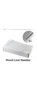 50 Tattoo Mixed Round Liner Needles (1,3,5,7,9RL)