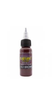 0.5 oz Radiant Tattoo ink OLD BROWN
