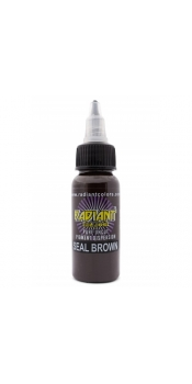 0.5 oz Radiant Tattoo ink SEAL BROWN