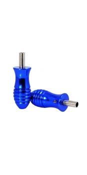 """1"""" Deep Blue Aluminum Alloy Grip (25mm x 57mm)"""