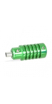 "1"" Green Aluminum Alloy Grip"