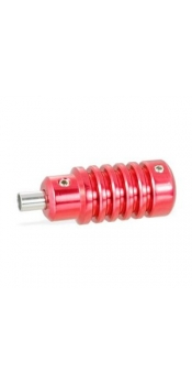 "1"" Red Aluminum Alloy Grip"