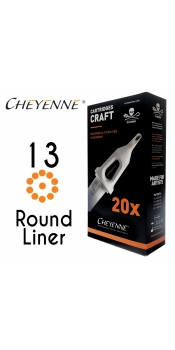 Cheyenne Craft Cartridge needles - 13 Round Liner - 10 Pack