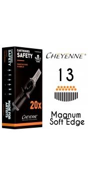 Cheyenne Cartridge - 13 Magnum Soft Edge - 10 Pack
