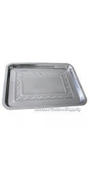 "14"" x 10.2"" Stainless Steel Tray"
