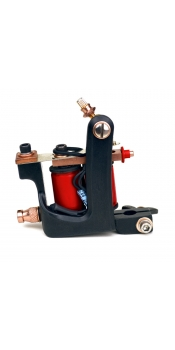Handmade 10 Wrap Tattoo Machine Liner - Red Wedding
