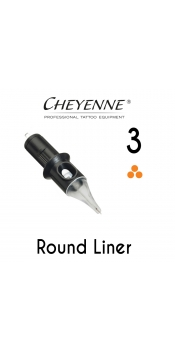 Cheyenne Cartridge -3 Round Liner, 0.25- 10 Pack