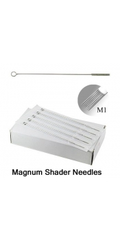 50 Tattoo Mixed Magnum Shader Needles (5,7,9,11,13MS)