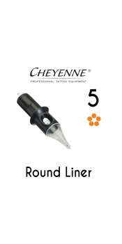 Cheyenne Cartridge -5 Round Liner, 0.25 - 10 Pack