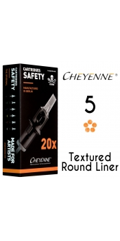 Cheyenne Cartridge -5 Bugpin Round Liner- 10 Pack
