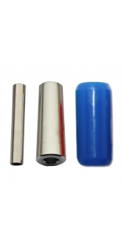 "7/8"" Blue Silicon Gel Grip (22mmX50mm)"