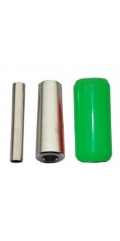 """7/8"""" Green Silicon Gel Grip (22mmX50mm)"""