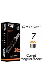 Cheyenne Cartridge- 7 Bugpin Magnum Soft Edge - 10 Pack