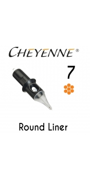 Cheyenne Cartridge -7 Bugpin Round Liner- 10 Pack