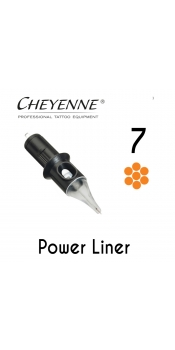 Cheyenne Cartridge -7 Power Liner- 10 Pack